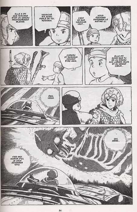 manga : Nausicaä et la vallée du vent