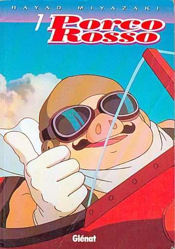 Porco Rosso anime-comics