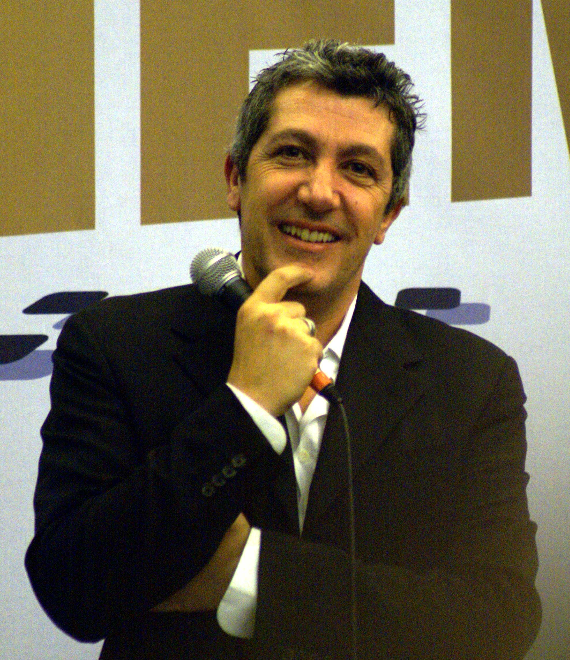 Alain CHABAT au salon du cinéma en 2006 (Photo Pascal Fernandez, http://blofeld60.deviantart.com/)