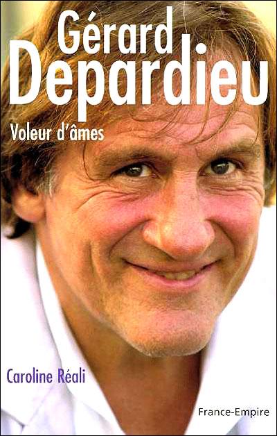 Couverture d'un livre sur Gerard Depardieu